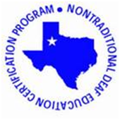 Non Traditional Deaf Education Certification Program Logo
